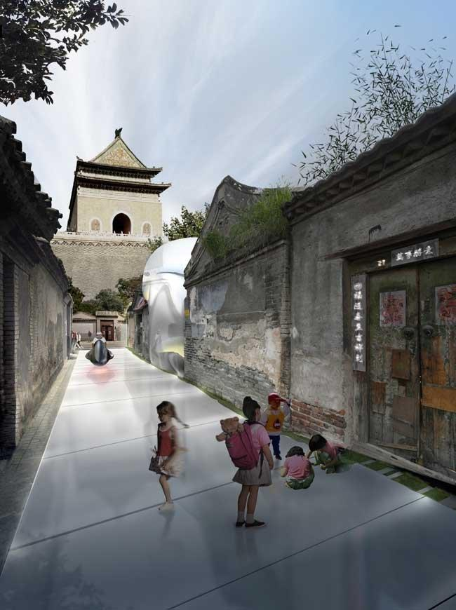 Объект Hutong Bubble 32 © MAD