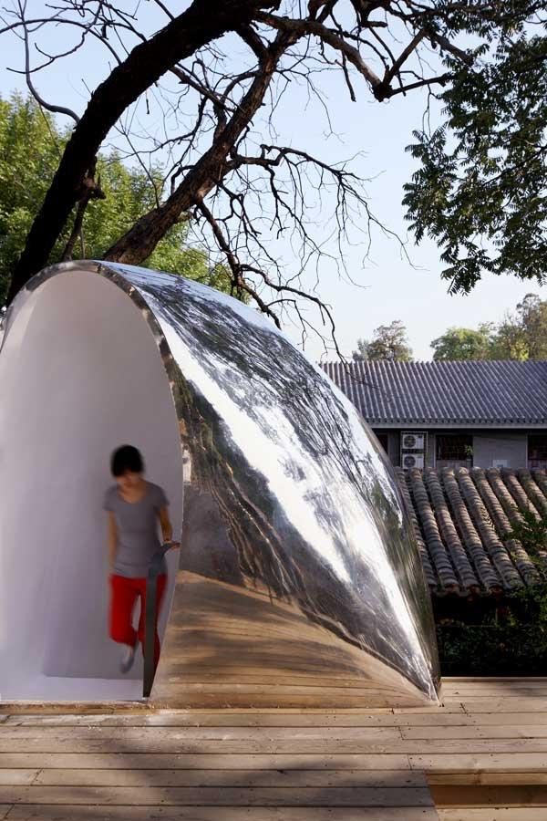 Объект Hutong Bubble 32. Фото © Shu He