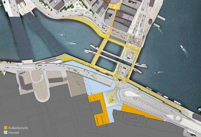 Слуссен – реконструкция. Проект январь 2010 © Foster + Partners