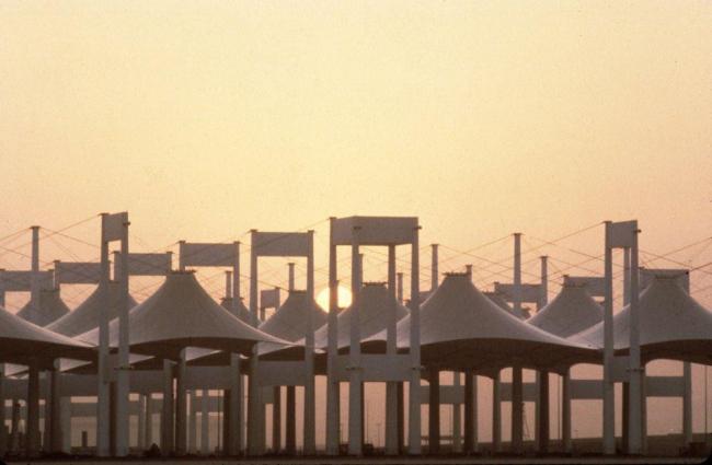 Терминал Хаджа Международного аэропорта имени Короля Абдул Азиза в Джидде