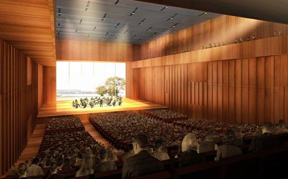 Концертный зал и конгресс-центр в Констанце