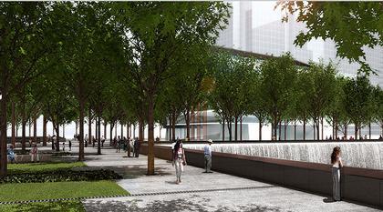 Мемориал Центра Мировой Торговли. Проект. Июнь 2006