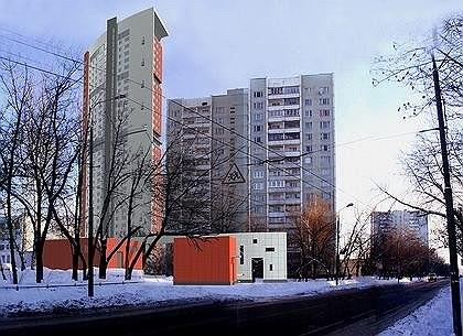 Жилой комплекс с подземной автостоянкой на улице Сельскохозяйственной