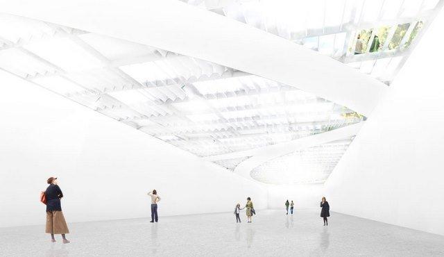 Музей Добре - реконструкция. Выставочный зал