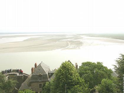 Залив Мон-Сен-Мишель. Отмели