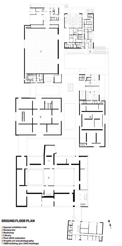 Новое крыло Музея Фолькванг ©  David Chipperfield Architects