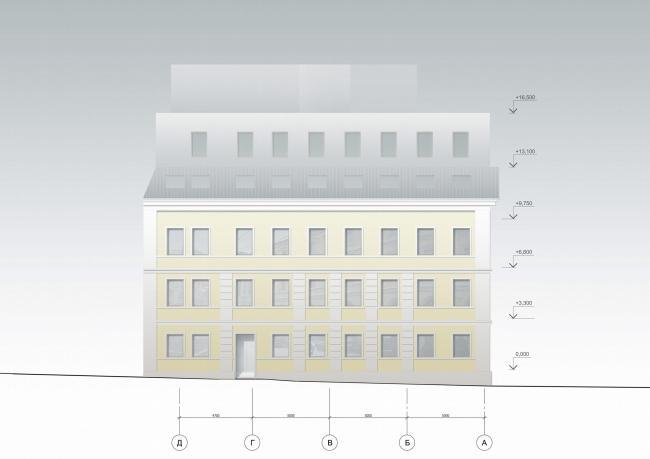 Фасад западный