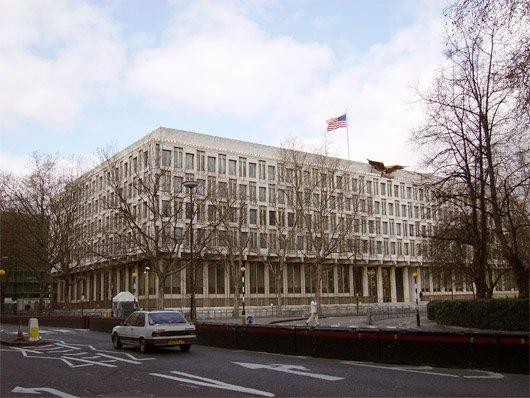 Эро Сааринен. Посольство США в Великобритании. Лондон. 1955-1960