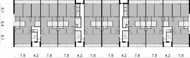 План 6,9 этажа