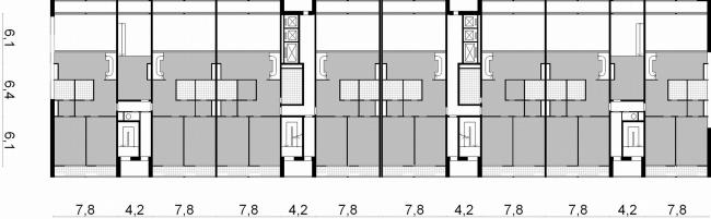 План 8,11 этажей