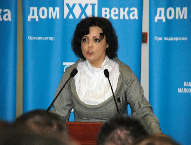 Вступительное слово ведущей церемонии - Президента НП НАМИКС Елены Николаевой