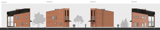 Жилой дом каркасно-щитовой конструкции. Инвестиционно-строительная компания «Гром».