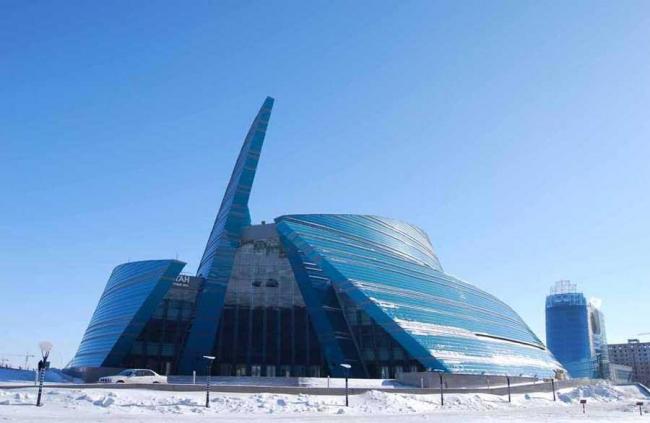 Центральный концертный зал Казахстана © Manfredi Nicoletti