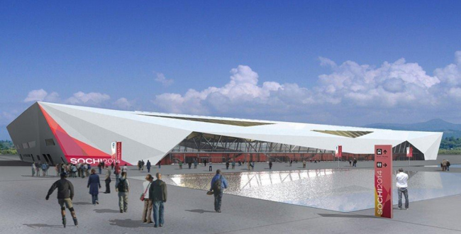 Конькобежный центр. Сочи-2014