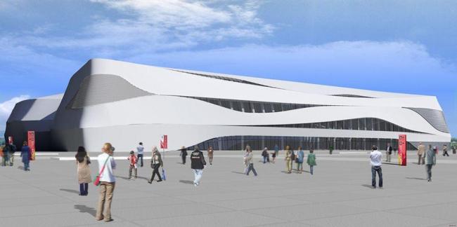 Ледовая арена для фигурного катания. Сочи-2014