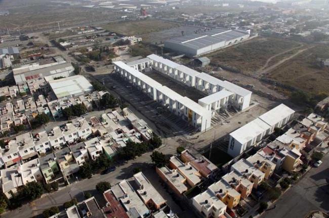 Жилой комплекс Elemental Monterrey. Фото © Ramiro Ramirez
