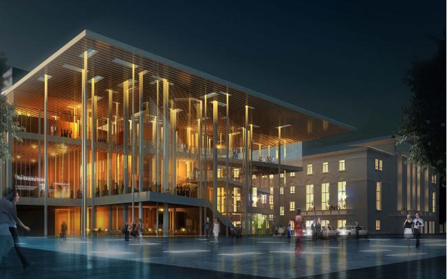 Проект бюро Henning Larsen Architects (Дания)
