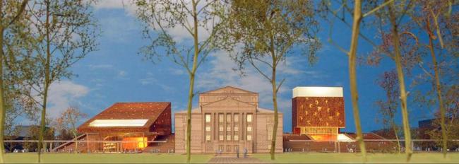 Проект бюро Neutelings Riedijk Аrchitects (Нидерланды)
