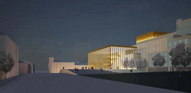 Проект бюро David Chipperfield Architects (Великобритания)