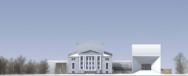Проект бюро Sergey Skuratov Architects (Россия)