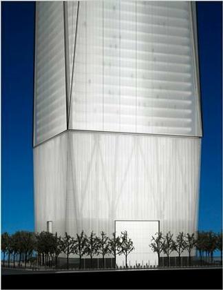 Дэвид Чайлдс. «Башня Свободы». Проект. Июнь 2006. Макет