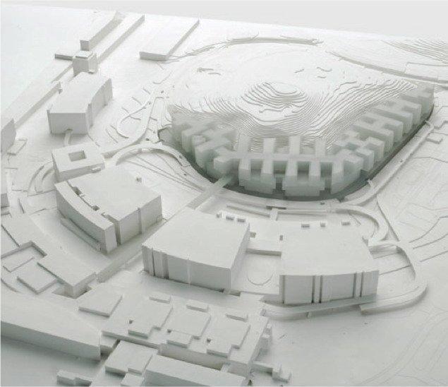 Комплекс The Circle - конкурсный проект