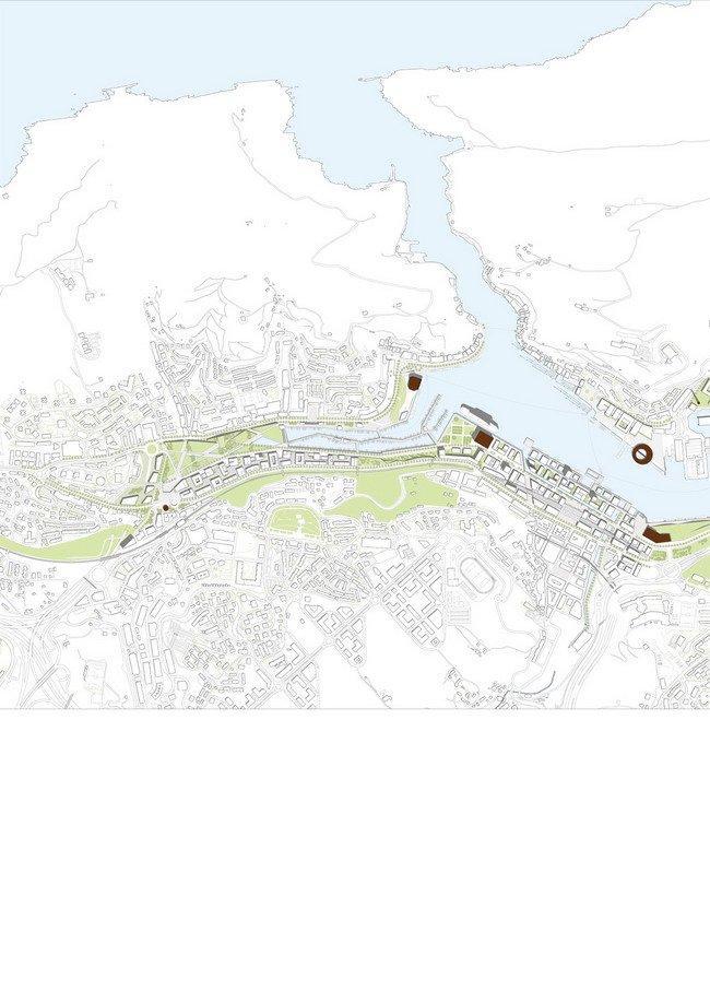 Генплан бухты Пасахеса