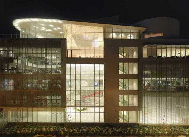 Медиа-лаборатория Массачусетского института технологии – новый корпус. Фото © Andy Ryan