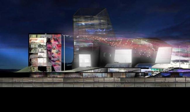Тайбэйский центр поп-музыки © Reiser+Umemoto RUR