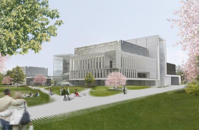 Центр искусств Политехнического института штата Вирджинии