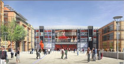Лионский Амфитеатр. «Общественная площадь». Проект