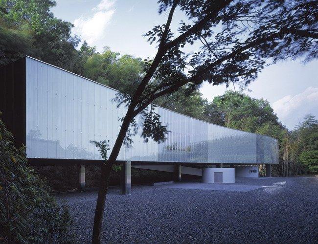 О-Музей в Иида. 1999. Photos by Hisao Suzuki  Courtesy of SANAA