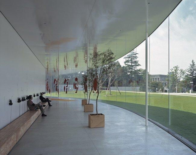 Музей искусства XXI века в Канадзава. 2004. Рhotos by Hisao Suzuki, Courtesy of SANAA