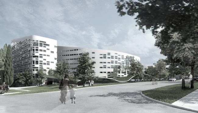 Апарт-отель в городе Геленджик