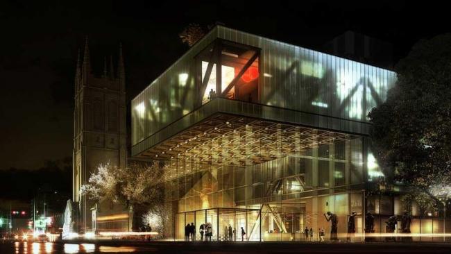 Национальный музей изящных искусств Квебека - новое крыло