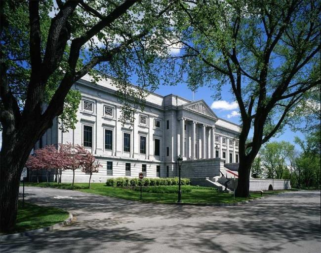Главное здание Национального музея изящных искусств Квебека