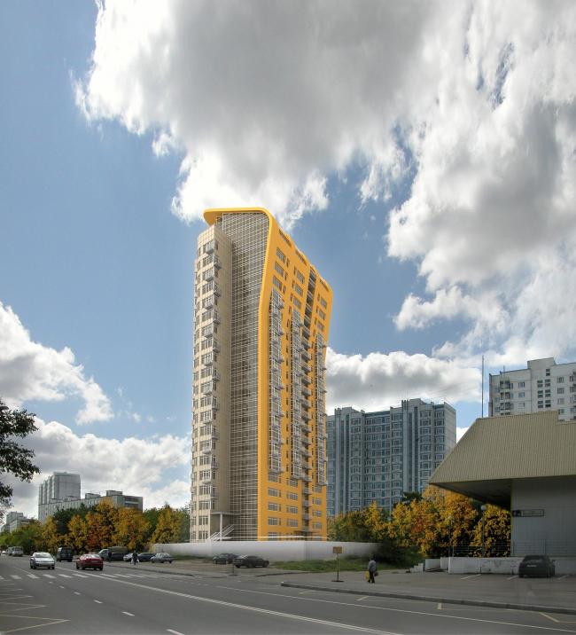 Жилой комплекс «Золотая осень» © Алексей Бавыкин и партнёры