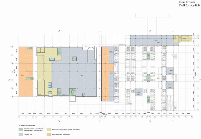 План 0-го этажа