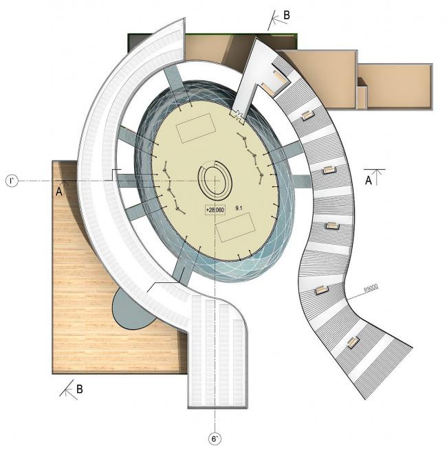 План шестого этажа