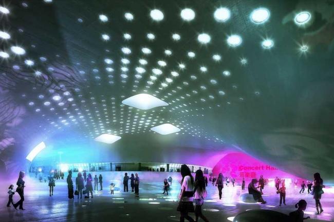 Центр исполнительских искусств Вэйуин © Mecanoo
