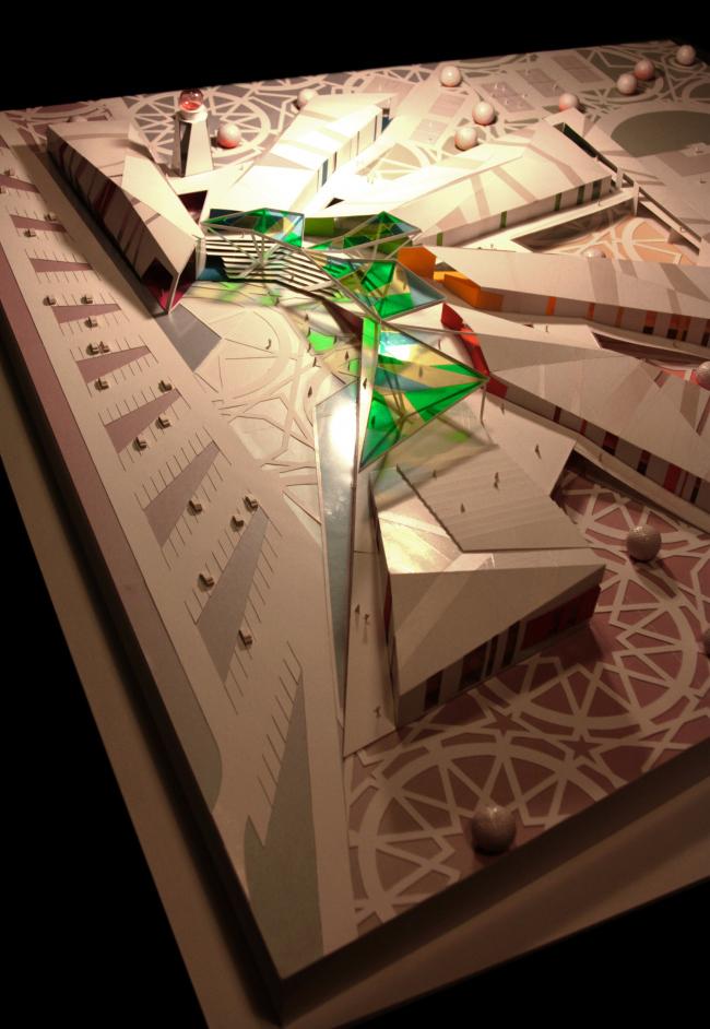 «Палитра» – проект Дворца творчества школьников в Астане © Архитектурное бюро Асадова