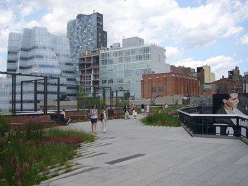 Парк High Line  Фото © Владимир Белоголовский
