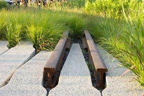 Парк High Line, фрагмент железнодорожного полотна  Фото © James Corner Field Operations