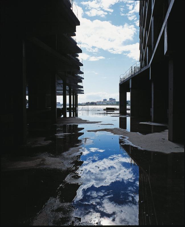 Многофункциональный спортивно- развлекательный комплекс с апартаментами «Город яхт».В процессе строительства © Архитектурная мастерская Лызлова