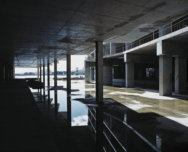 Многофункциональный спортивно-развлекательный комплекс с апартаментами «Город яхт». В процессе строительства © Архитектурная мастерская Лызлова