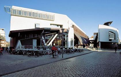 Городская Библиотека в Мюнстере. Фотография с сайта Bolles&Willson