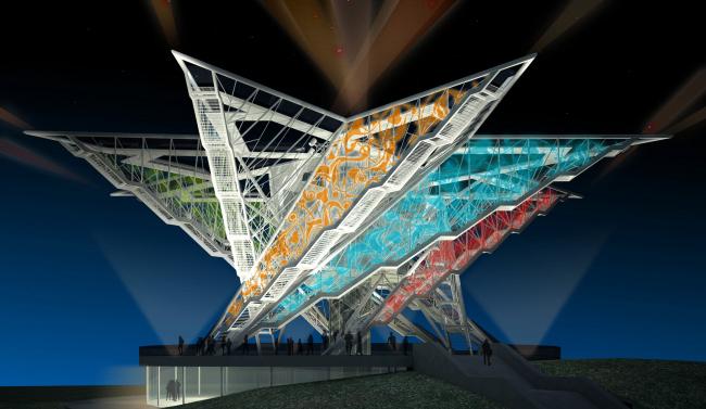 «Звезда Свободы» – памятник независимости Азербайджана © Архитектурное бюро Асадова