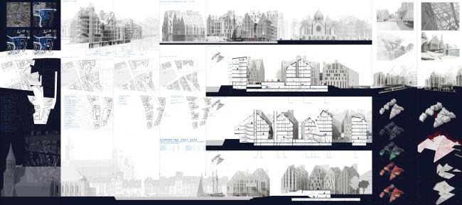 Проект Водного туристического комплекса в структуре воссоздаваемого центра Калининграда. Яцюк Евгения