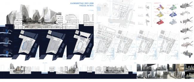 Проект Спортивно-развлекательного комплекса в центре Калининграда «Площадь Вагнера». Яцюк Ольга