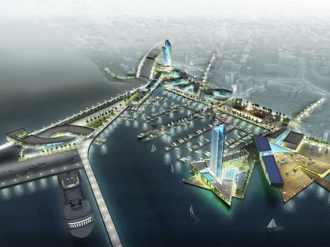 Реконструкция морского порта Сочи. Aedas